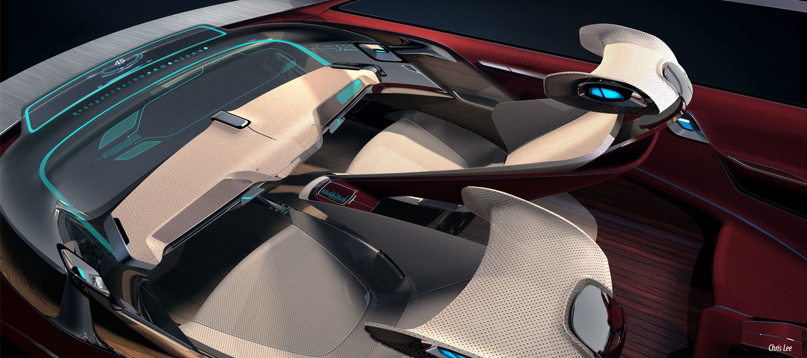 Bmw I7 Concept Interior Design Sketch Car Body Design