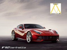 Ferrari F12Berlinetta wins the ADI Compasso D'oro Award for design