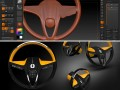 Steering Wheel concept ideation in ZBrush