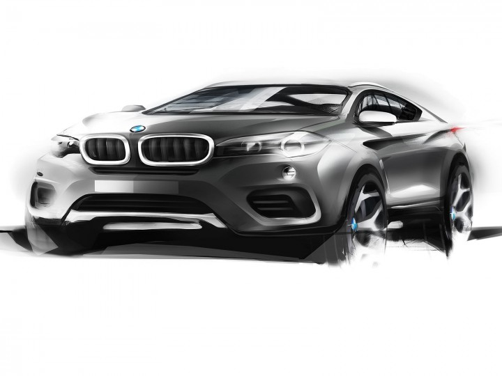 BMW reveals the 2nd generation X6