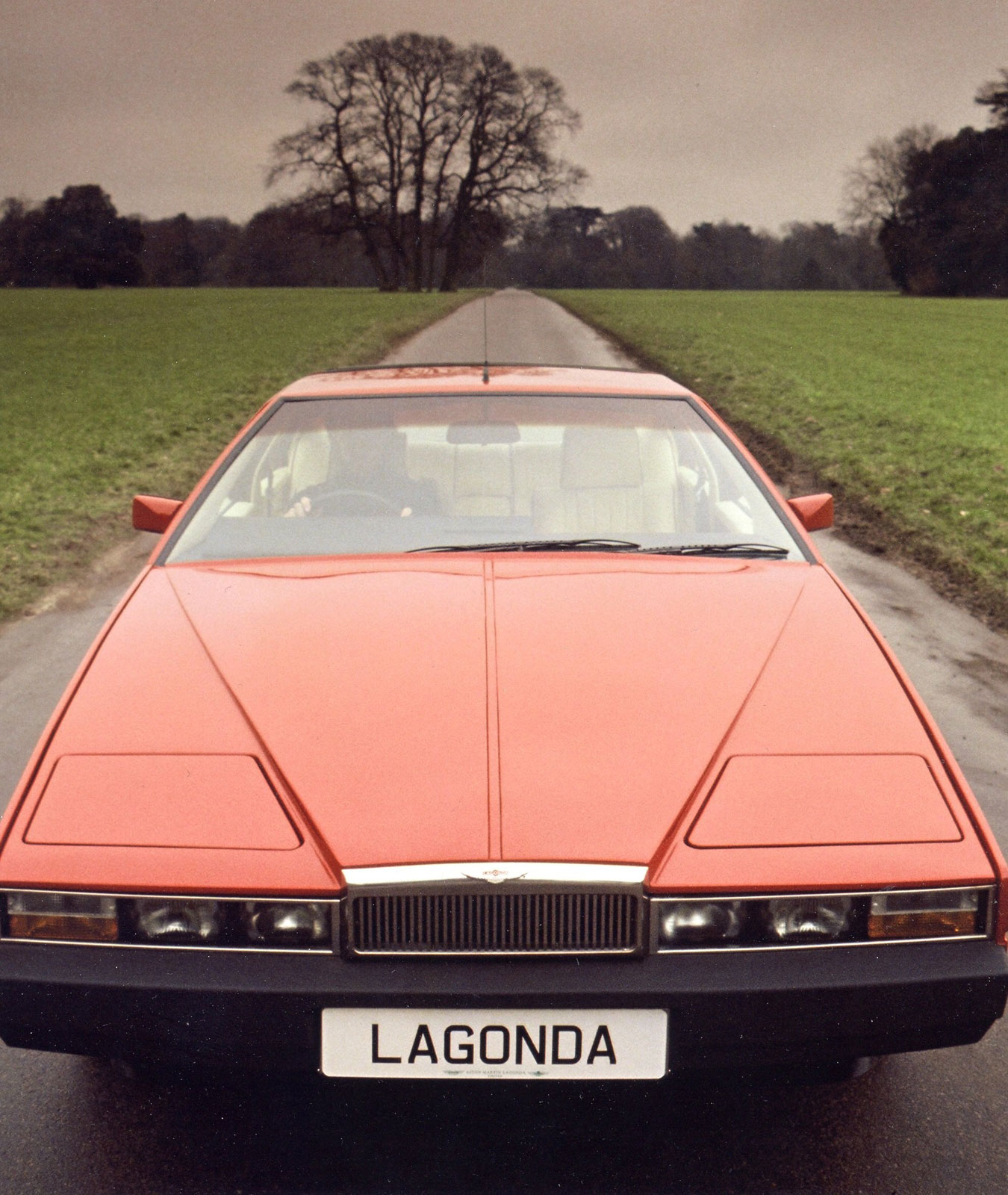1976 Aston Martin Lagonda Car Body Design