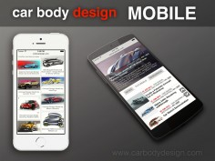 Car Body Design goes mobile!
