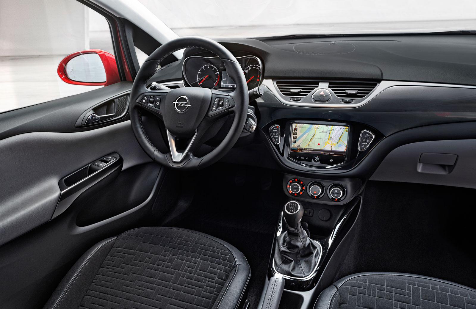 New Opel Corsa Interior Car Body Design