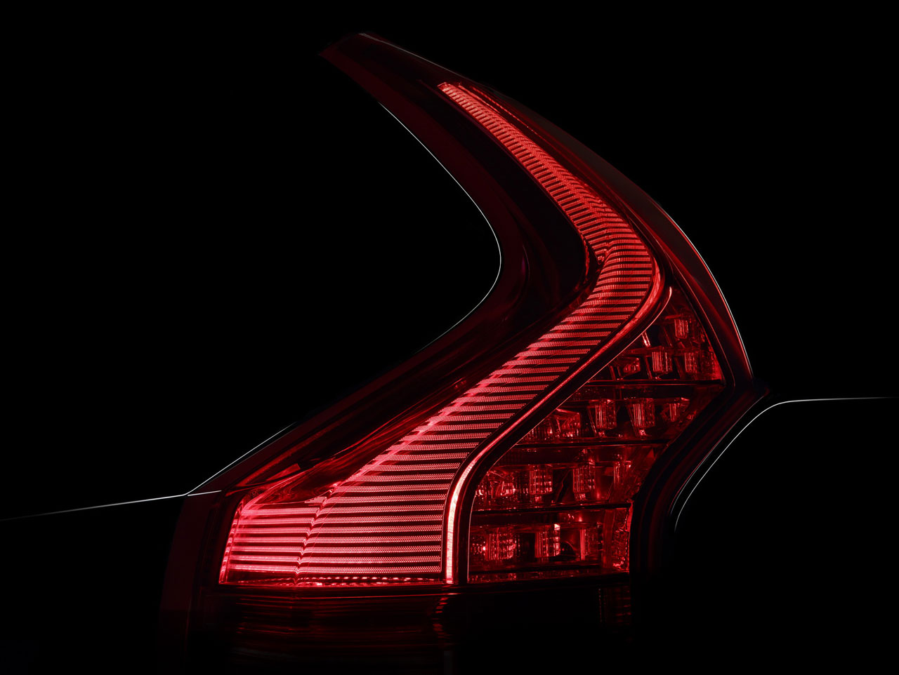 New Volvo Xc90 >> Volvo XC90 - Tail light design detail - Car Body Design