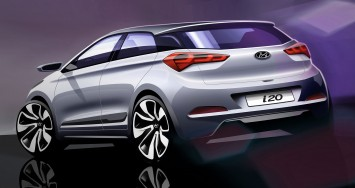 Hyundai i20 - Design Sketch