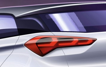 Hyundai i20 - Tail Light Design Sketch