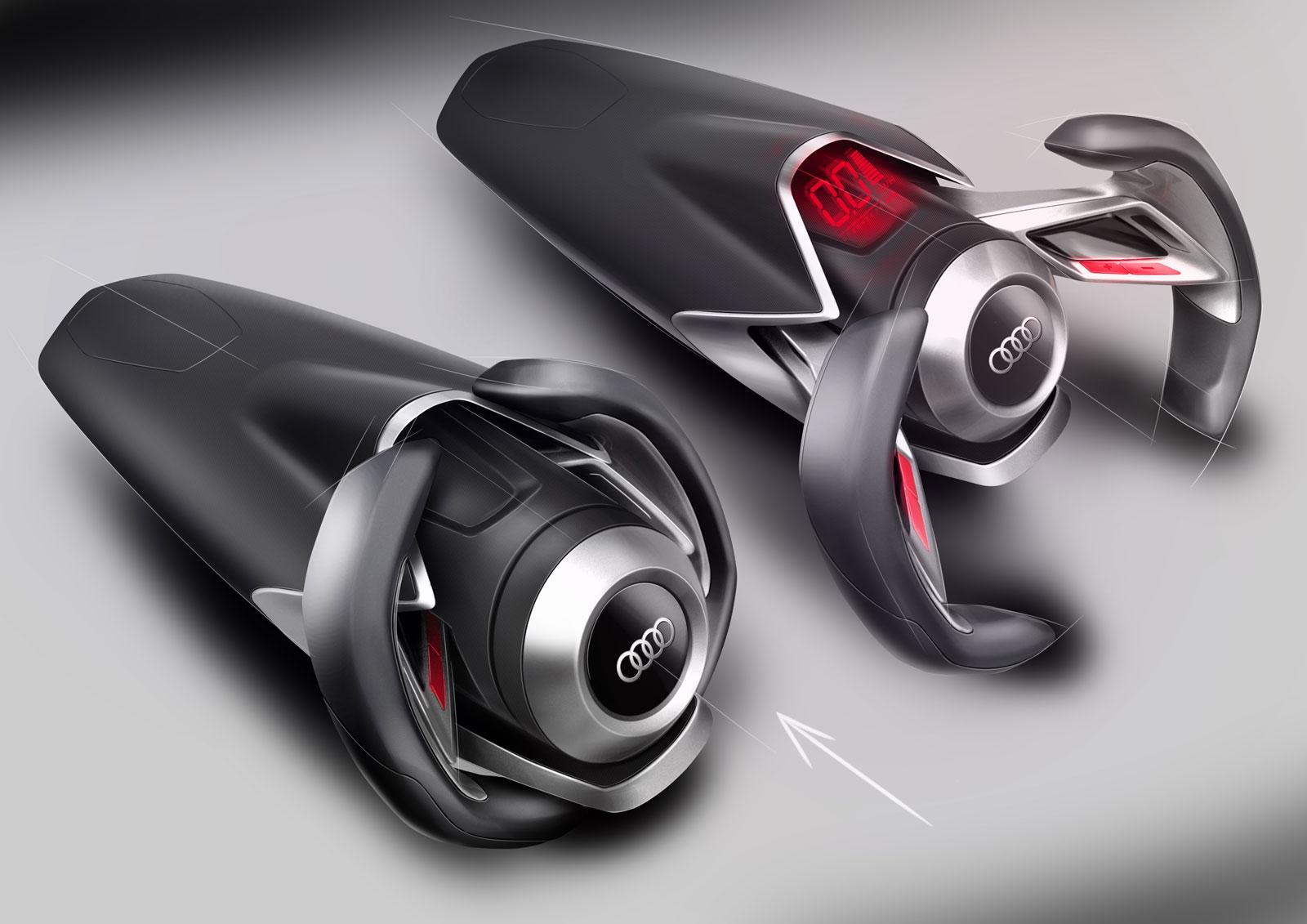 spd concept car steering wheel design sketches car