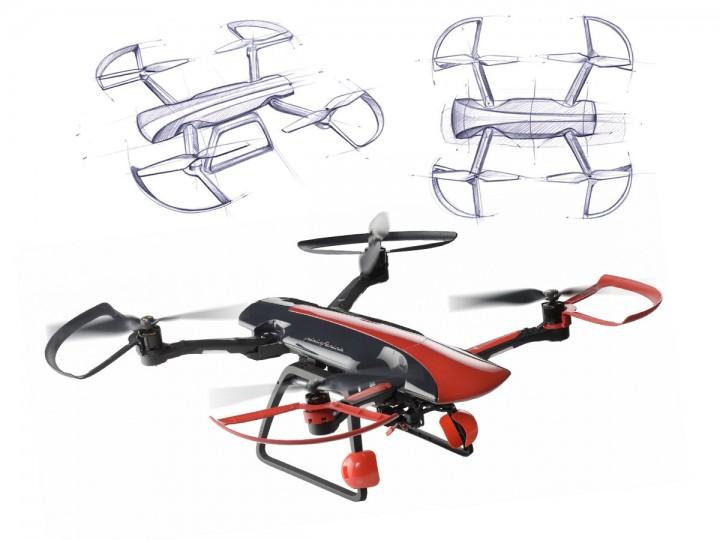 Pininfarina Designs Rc Drone Car Body Design