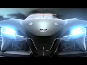 Toyota previews FT-1 Vision GT Concept for Gran Turismo