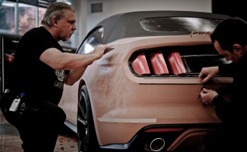 2015 Ford Mustang - Clay Modeling