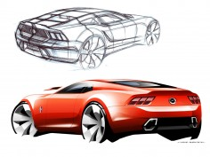 2015 Mustang: from sketch to production