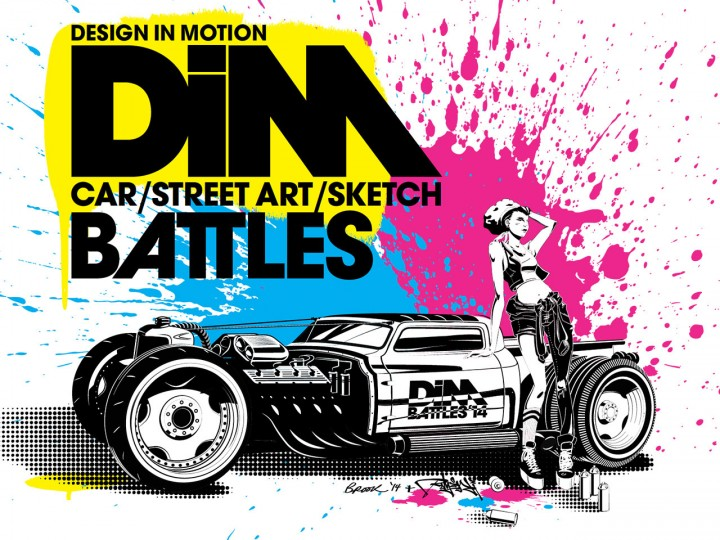 Design in Motion – Cars, Graffiti and Sketch Battles