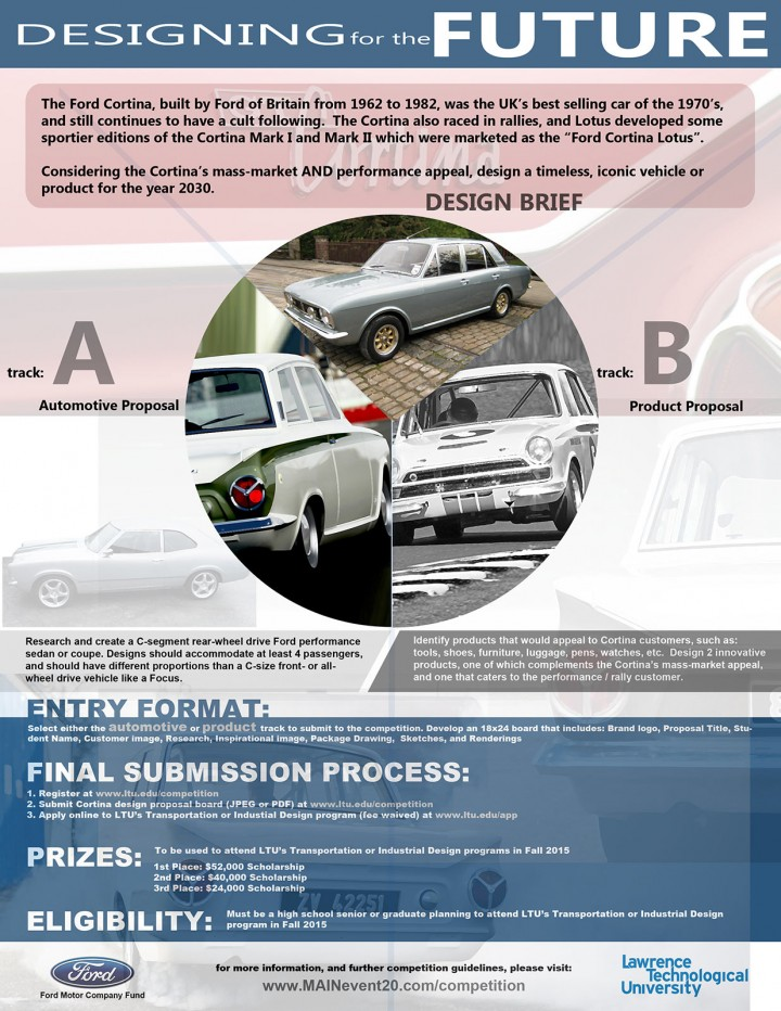 """LTU and Ford launch """"Designing For The Future"""" Competition"""