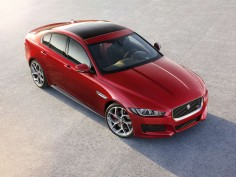 Jaguar unveils the XE midsize sedan