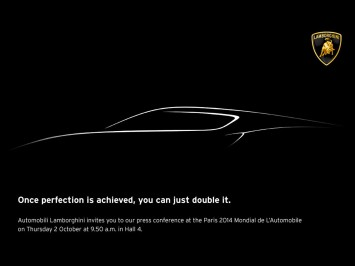 Lamborghini teases new concept ahead of Paris Debut