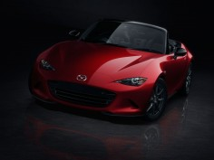 The new Mazda MX-5/Miata