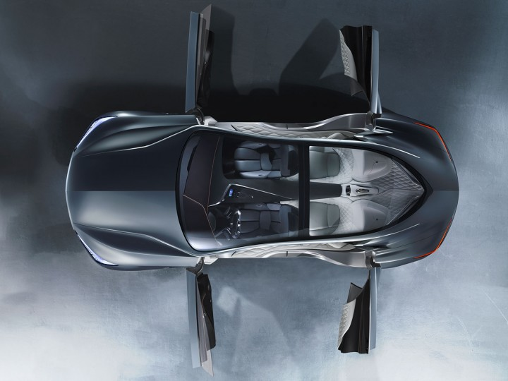 Infiniti Q80 Inspiration Concept: the design