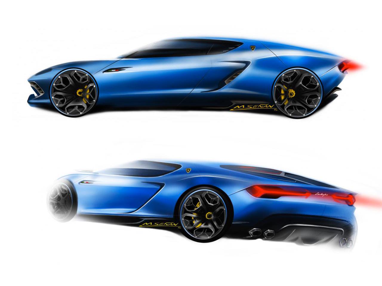Lamborghini Asterion Lpi 910 4 The Design Car Body Design
