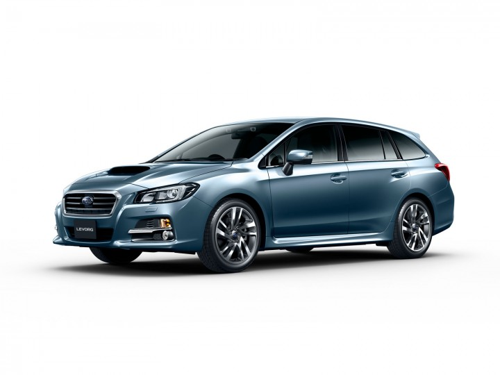 Subaru Levorg wins Good Design Award 2014