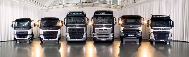 Volvo Trucks Design - Clay model range