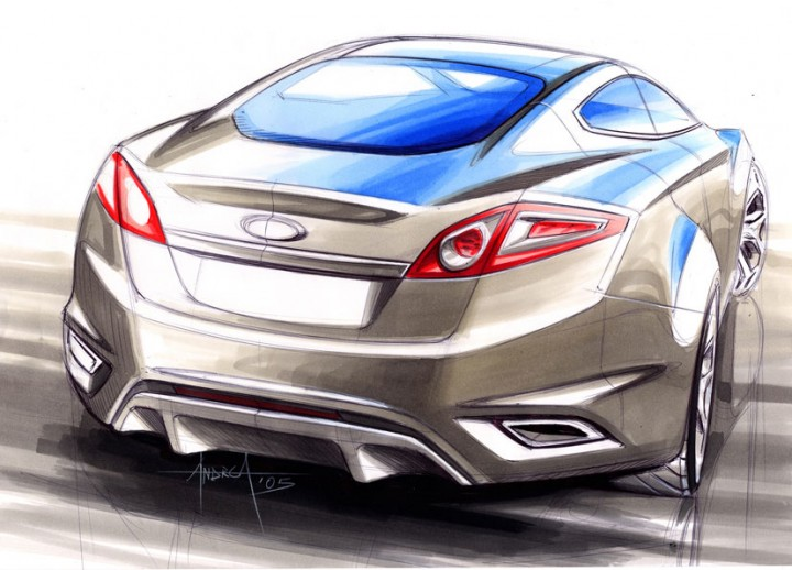 Ford Iosis Concept - Design Sketch by Andrea di Buduo