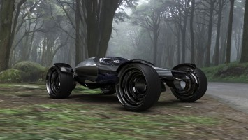 Infiniti SYNAPTIQ Concept Off road Buggy