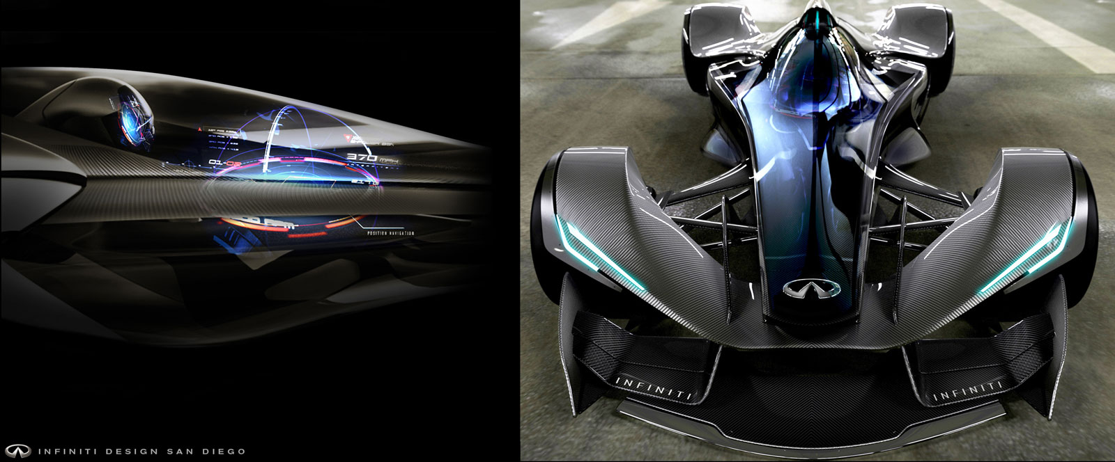Infiniti SYNAPTIQ Concept - Formula One and interface