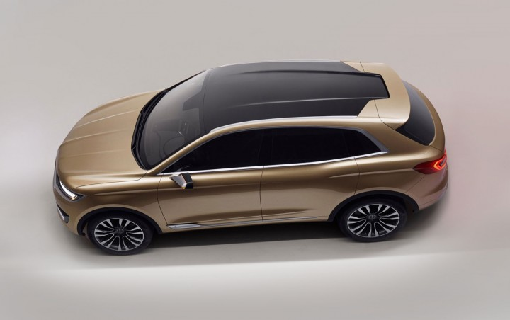 Lincoln MKX Concept - Moonroof