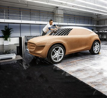 Mercedes-Benz Vision G-Code Concept - Clay Model