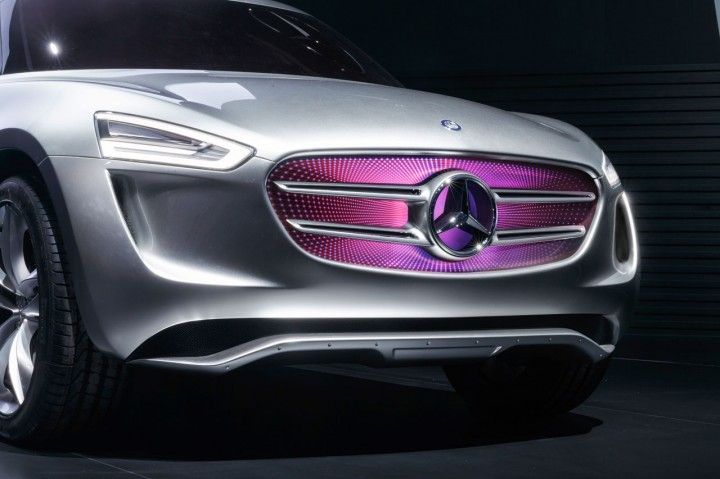 Mercedes-Benz Vision G-Code Concept - Front grille