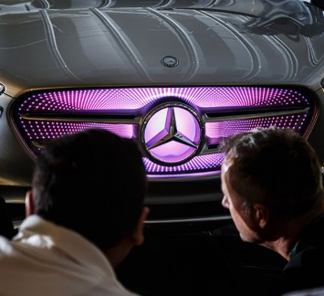 Mercedes-Benz Vision G-Code Concept - Front grille detail