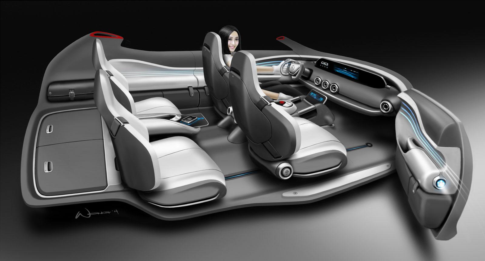 Mercedes-Benz Vision G-Code Concept - Interior Design ...