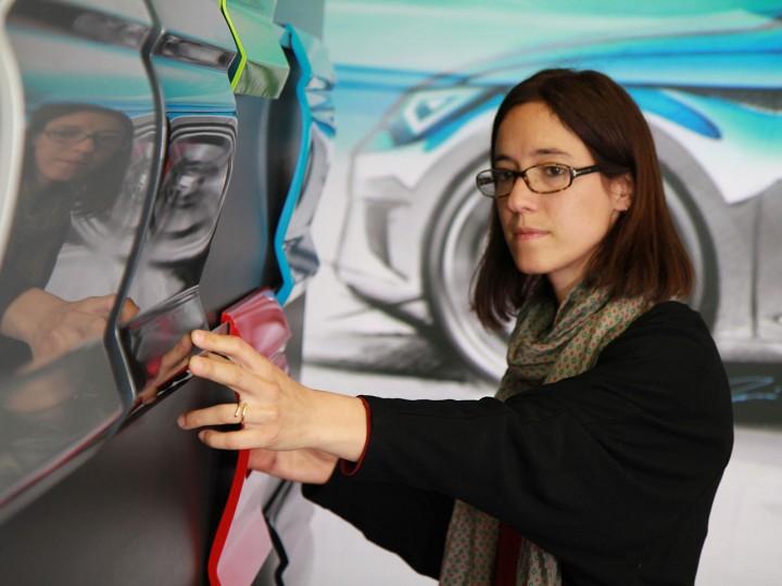 Seat Designer On The R D Process For Color Design Car Body Design