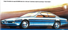 1973 BMW Turbo Prototype - Design Sketch Study