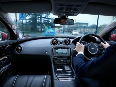 Jaguar Land Rover develops transparent pillars and ghost car navigation