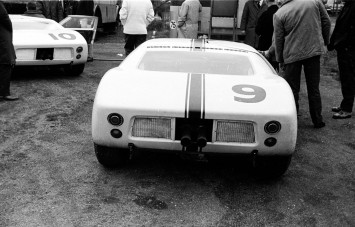 1964 Ford GT in its original configuration Testing at LeMans