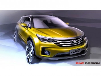 GAC GS4 SUV preview