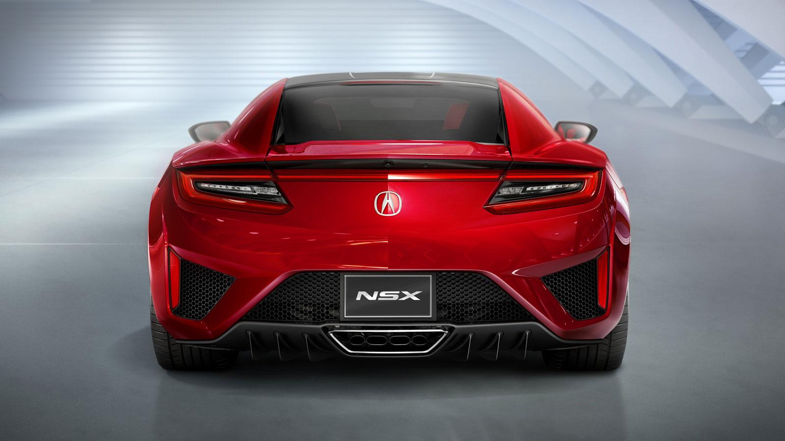 Honda Acura Nsx Car Body Design