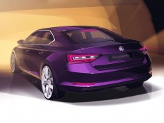 New Škoda Superb: design gallery