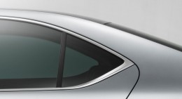 2015 Skoda Superb C Pillar detail