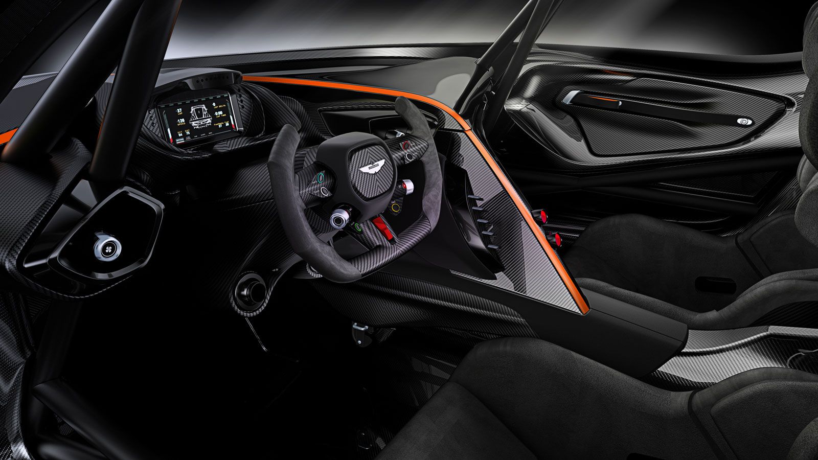 Aston Martin Vulcan Interior Car Body Design