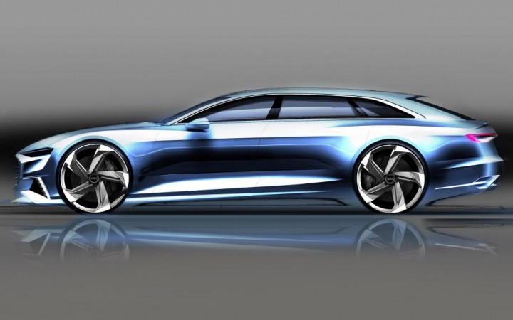 Audi Prologue Avant Concept - Design Sketch