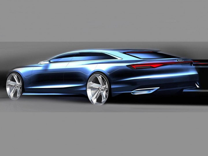 Audi previews Prologue 'Avant' Concept