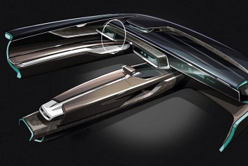 Audi Prologue Avant Concept - Interior Design Sketch