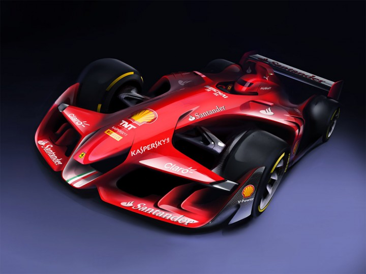 Ferrari envisions the F1 of the future