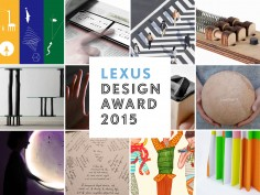 2015 Lexus Design Award: the finalists