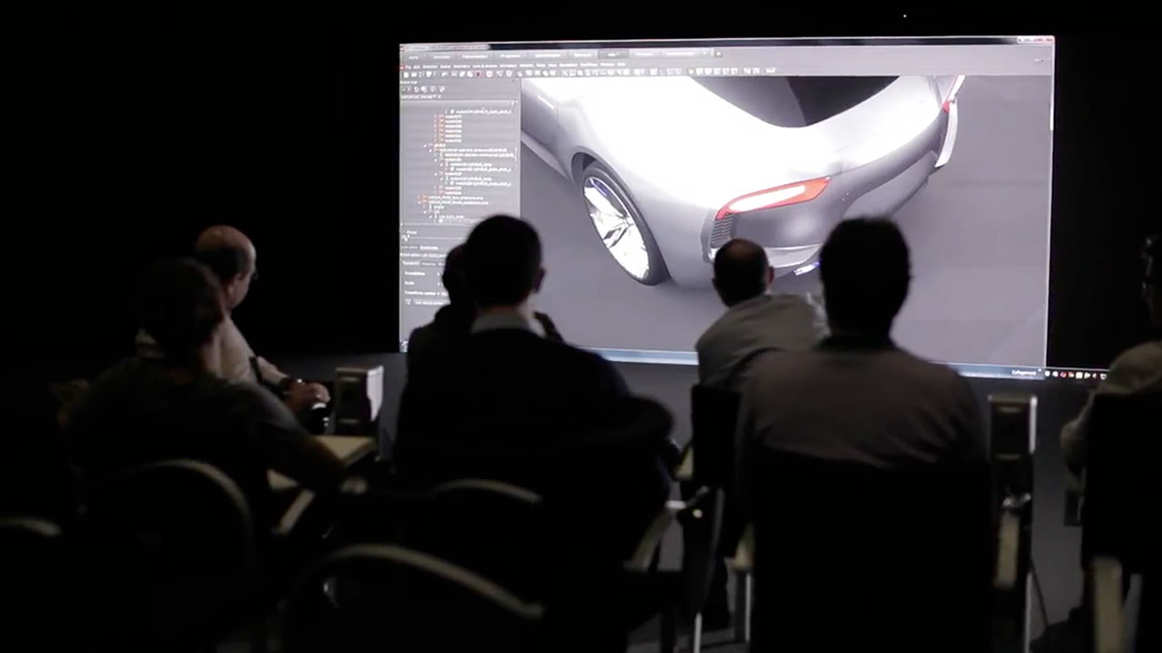Maserati Alfieri Concept - Design Review with Virtual Reality