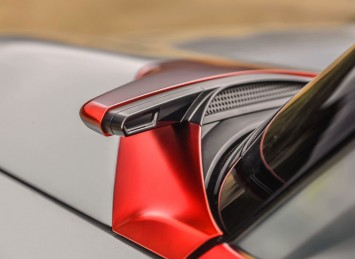Mitsubishi Concept GC PHEV Side camera detail