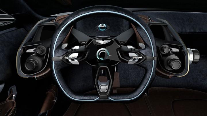 Aston Martin DBX Concept Interior - Steering Wheel