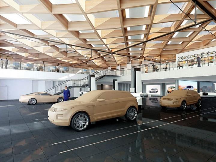 Land Rover Warwick >> Jaguar Land Rover starts construction of new UK Automotive